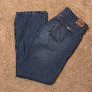 Levi's Signature Boot Cut Misses Jeans 14 Short